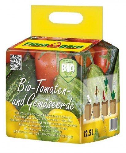 Floragard Bio Tomaten- und Gemüseerde, 12,5 L