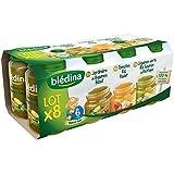 Bledina Pots Sales Lot 8X200G - Tomates Riz Poulet 4X200G Jardiniere De Legum - ( Prix Unitaire ) - Envoi Rapide...
