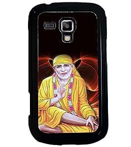 PRINTVISA Religious Sai Baba Case Cover for Samsung Galaxy S3 Mini::Samsung Galaxy S3 Mini i8190