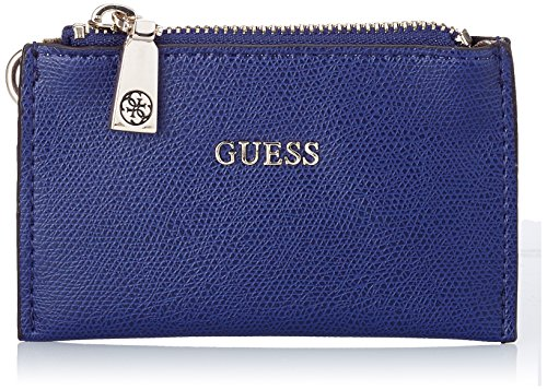 guess-mujer-lexxi-zip-pouch-keychain-llavero-con-anilla-y-cadena-azul-blu-sapphire