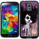 SilikonHülle für Samsung Galaxy S5 Mini - Skelett Iii by Rouble Rust