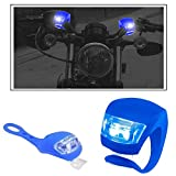 #7: Vheelocityin 2+2 Led Blue Bike Light with Flashing Mode Motorcycle LED