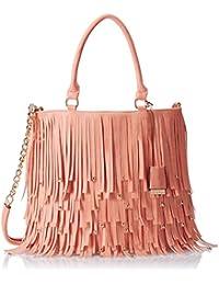 Diana Korr Women's Shoulder Bag (Peach) (DK96HPEA)