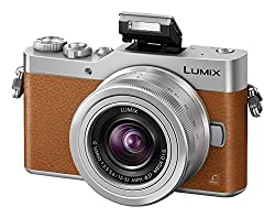 Panasonic Dc-gx800kebt Lumix G Compact System Camera - Tan (12-32 Mm Lens, 4k Video & Photo)