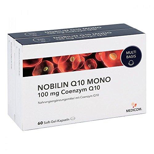 Nobilin Q10 Mono 100 mg Kapseln 2X60 stk