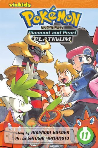 Pok¨¦mon Adventures: Diamond and Pearl/Platinum, Vol. 11 (Pokemon) by Kusaka, Hidenori (2014) Paperback
