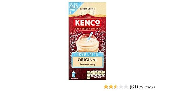 Kenco Instant Iced Latte Original Amazoncouk Grocery