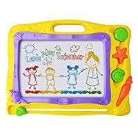 Magnetic Drawing Board Game - Kids Magna Drawing Doodle Board Erasable Writing Sketch Board Pad, Toddler Toys Gift for Children Babies Painting Writing Playing