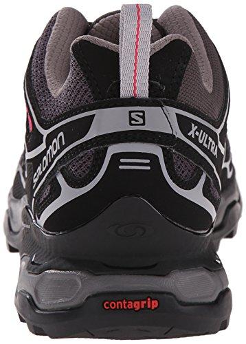 Salomon  X Ultra 2, Chaussures de randonnée à tige basse femme Gris - Grey (Asphalt/Black/Hot Pink)
