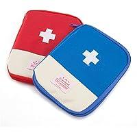Qearly Oxford Tuch Compact First Aid Tasche Erste Hilfe Tasche-Blau preisvergleich bei billige-tabletten.eu