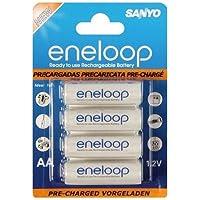 Sanyo HR-3UTG-8BP 8 Batteries Eneloop Type AA