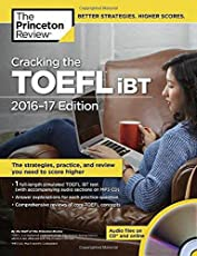 Cracking the TOEFL iBT (with Audio CD) (College Test Preparation)
