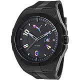 Puma Time Herren-Armbanduhr Iconic Analog Quarz Plastik PU103501012