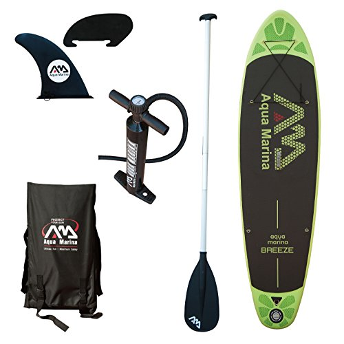 Aqua Marina Breeze Sup Gr&uumln/Schwarz, One Size… | 06954521601632