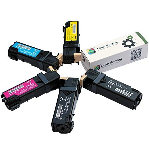 Set di 5 cartucce, toner XEROX Phaser 6500 / WorkCentre