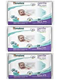 Himalaya Combo Herbals Gentle Baby Wipes, 24 Pieces (Pack Of 3)