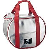 Be Cool Cool Bag - Bolsa nevera redonda (21 L), color plateado