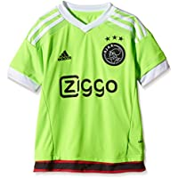 adidas Camiseta para niños AJAX réplica de Jugadores-visitante Verde Solar  Green White  60642c4b416f0
