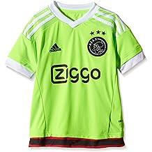 adidas Camiseta para niños AJAX réplica de Jugadores-visitante Verde Solar Green/White/