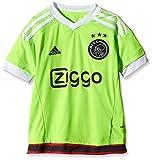 adidas Kinder Trikot Ajax Replica Spieler-Auswärts, Solar Green/White/Black, 128, S08218