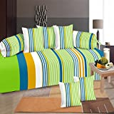 #3: Diwan Set Of 8 Pieces by GDH, Striped Design
