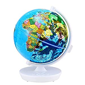 Oregon Scientific OSSG102RW Globus, Color Blanco