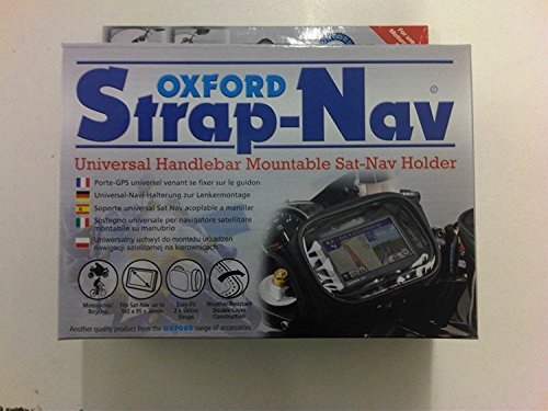 Price comparison product image Oxford Motorcycle Strap on Sat Nav Bag Holder Handlebar Mountable