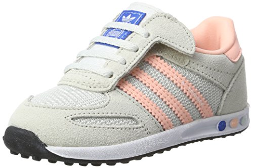 cheap for discount b998b 39c4f adidas La Trainer CF, Zapatillas Unisex bebé, (Vintage White Haze Coral