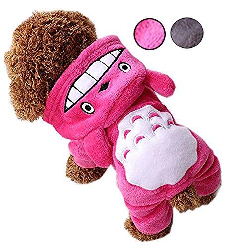 d Kostüm Winter Katze Hoodies Hund Baumwolle Bekleidung Mantel Jumper für Welpen Kleine Mittelgroße Hunde Overall Haustier Kleidung Costumes07 (Welpen-kostüm Für Mädchen)