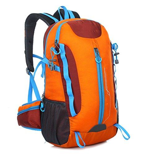 OGERT Impermeabile Alpinismo All'aperto Borse A Tracolla Escursionismo,Yellow Orange