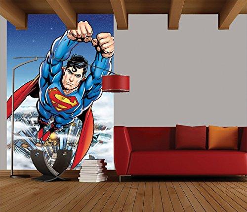 1Wall W2PL-SUPERMAN-004 Superman Wall Mural/Fototapete