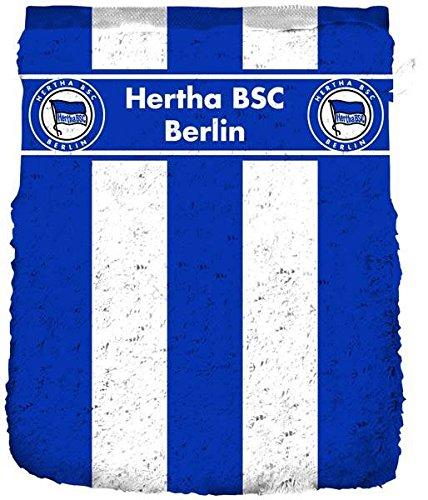 Hertha BSC Berlin Waschhandschuh 'Blockstreifen'