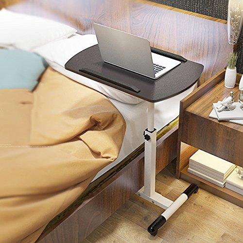einstellbar Klapptisch / Portable Computertisch / Klapphebeschreibtische / Mobile Schreibtische / Mehrzweckklapptische Kann gedreht werden ( Farbe : Schwarz ) (Klapptisch Portable)
