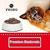 Frostfutter Nordloh Premium Rindermix 20 x 500 g, tiefgekühltes Fertigbarf - Alleinfuttermittel für Hunde