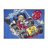 Kinderteppich Mickey Mouse 133x 95cm Disney Auto