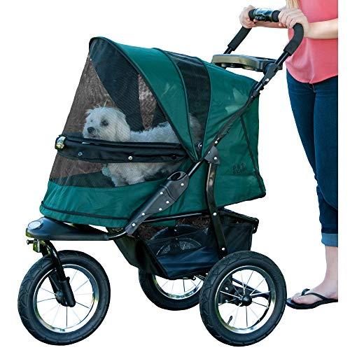 Pet Gear Haustier-Buggy, zum Joggen geeignet, ohne Reißverschluss, Waldgrün