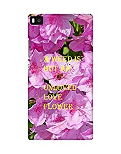 Mobifry Back case cover for Huawei P8 Mobile ( Printed design)