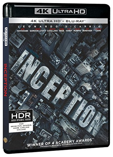 Inception [4K Ultra HD + Blu-ray]