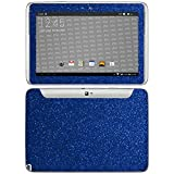 atFolix Samsung Galaxy Note 10.1 (2012 Edition) Skin FX-Glitter-Blue-Danube Designfolie Sticker