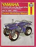 Yamaha YFM350 (ER and Big Bear) ATVs (87-99) (Haynes Owners Workshop Manuals)