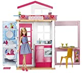 #10: Barbie 2 Story House and Doll, Multi Color