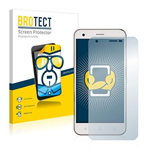 BROTECT Schutzfolie kompatibel mit Vodafone Smart Ultra 6 [2er Pack] klare Bildschirmschutz-Folie