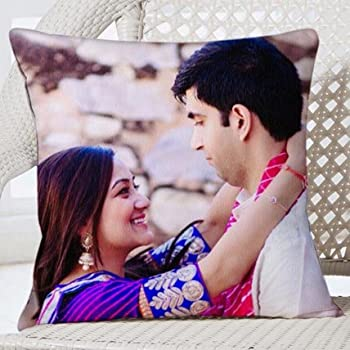 Personalize Favourite Image Cushion- 12 x 12 inches,Personalize Cushion with Image, Romantic Gift, Personalize Gift, Personalize Gift for Girlfriend, Personalize Gift for Boyfriend, Birthday Gift for Girlfriend, Birthday Gift for Boyfriend, Gift for Anniversary,