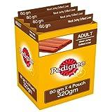 #9: Pedigree Meat Jerky Stix Dog Treats, Liver, 80 g Pouch (Pack of 4)