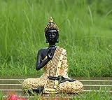 #10: TiedRibbons Lord Buddha Idol Size(7X5.5X5.5,Inch)Gold
