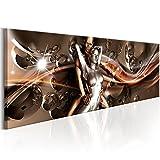 murando - Bilder 120x40 cm - Vlies Leinwandbild - 1 Teilig - Kunstdruck - modern - Wandbilder XXL - Wanddekoration - Design - Wand Bild - Paar Abstrakt Digital Erotik Gestalten silber Blitz Akt h-A-0085-b-a