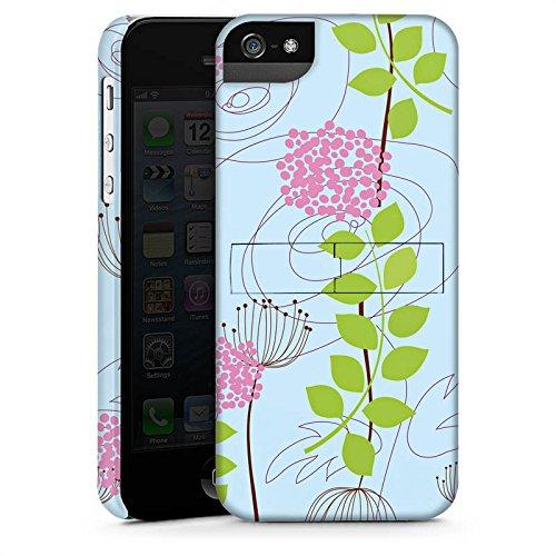 Apple iPhone 6 Housse Étui Silicone Coque Protection Fleurs Fleurs Motif CasStandup blanc