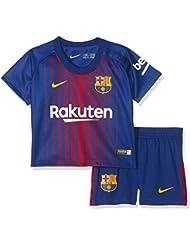 Nike Fcb I Nk Brt Kit Hm Camiseta de Equipación Línea FC Barcelona, Bebé-Niños, Azul (Deep Royal Blue/University Gold), 9-12
