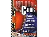 100 Hits in C-Dur, für Keyboard, Klavier, Gitarre, Ringbuch, Band 1