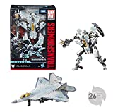 TRANSFORMERS Studio Series - Robot Voyager Starscream avion 20cm - Jouet transformable 2 en 1